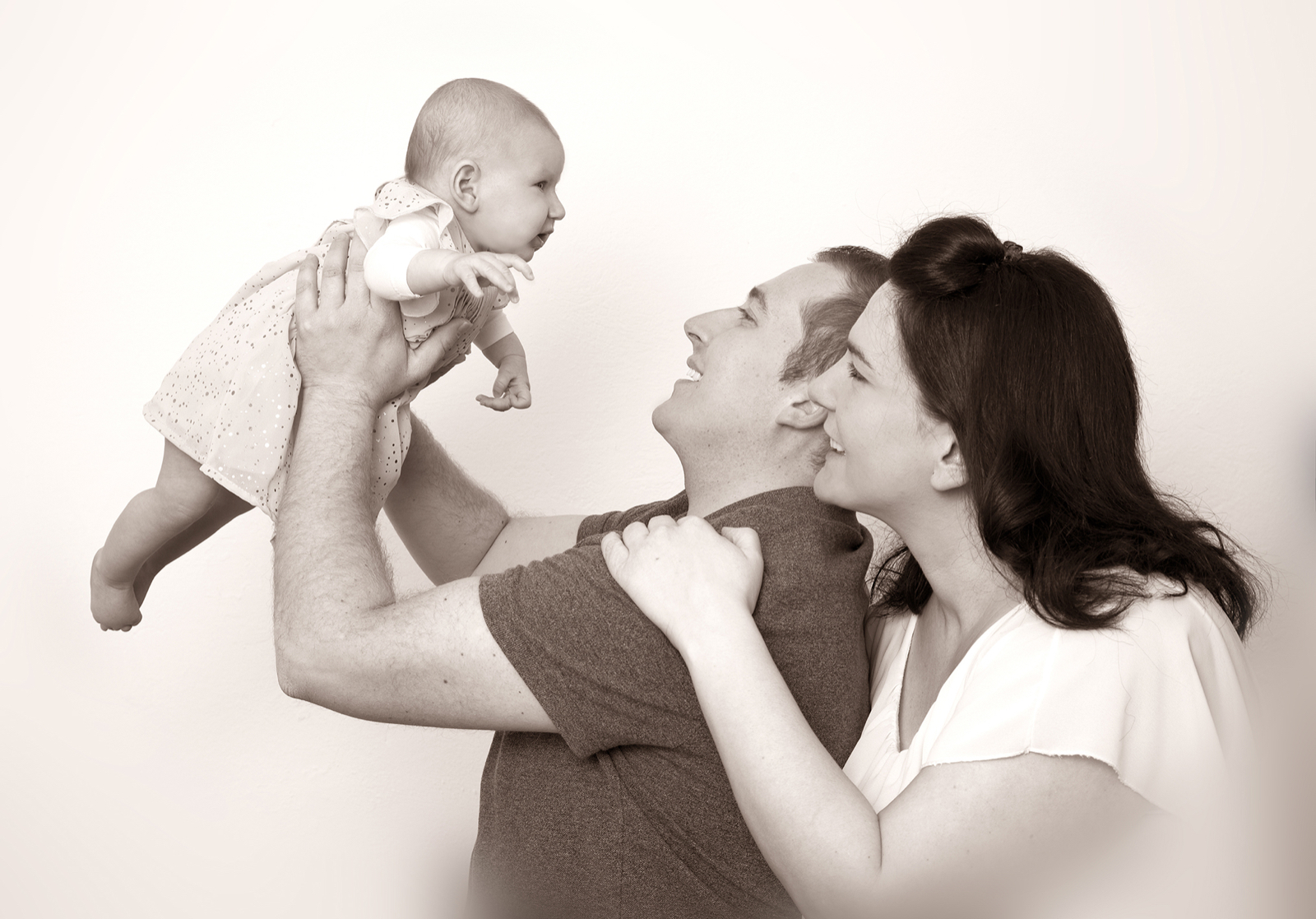 Familienshooting Baby